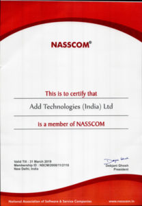 ADD Technologies (India) Ltd is a member of NASSCOM