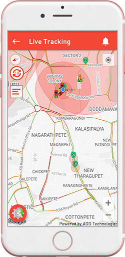 Live GPS Tracking Solutions in Bangalore