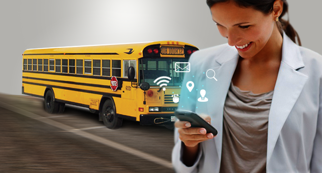 GPS Trackers in School Buses